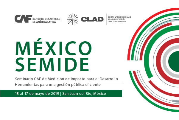 CAF offers 35 scholarships for Seminar on Impact Measurement for Development in Mexico