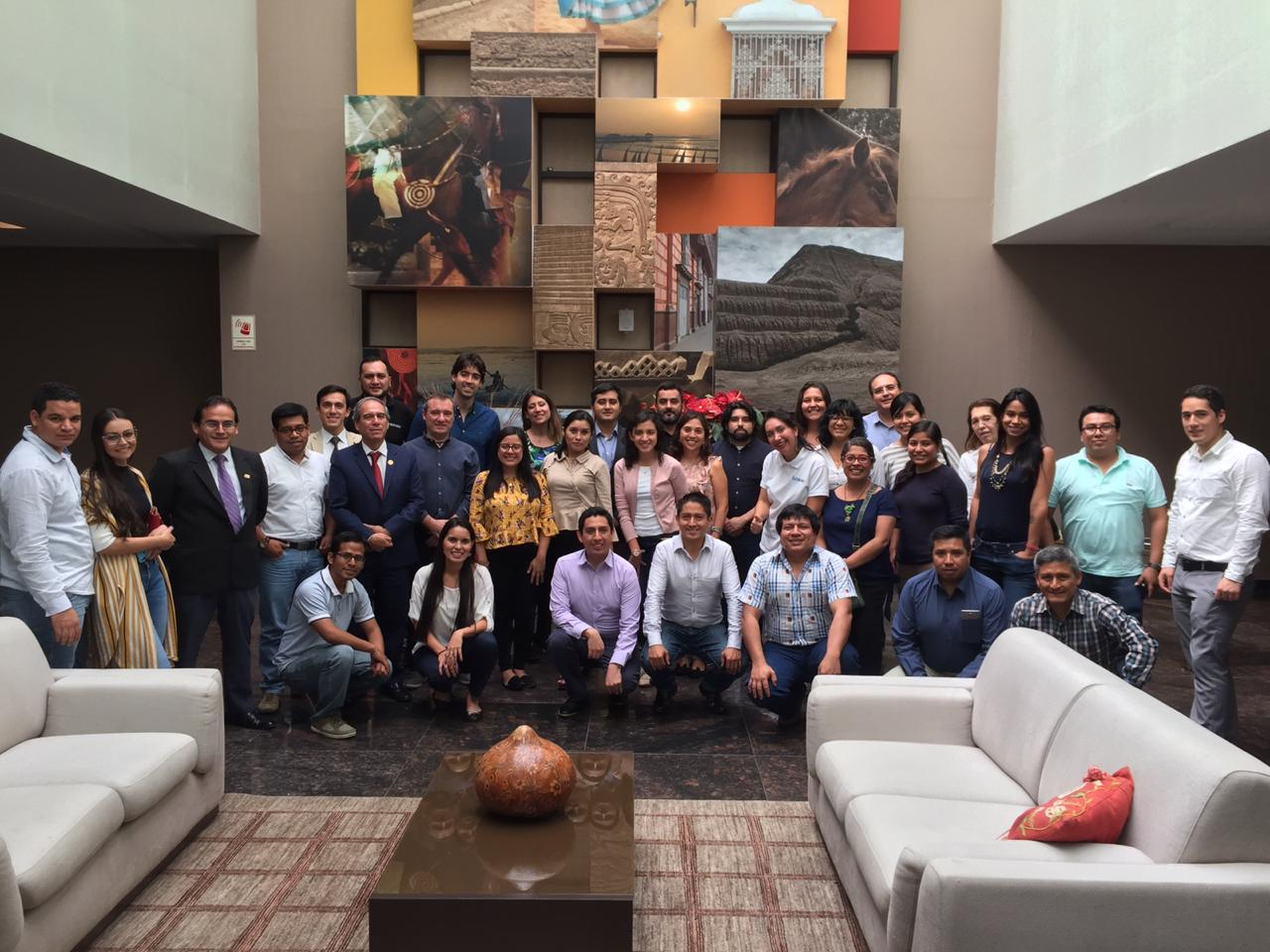 CAF holds patent development workshop for Peru's agro-industrial sector