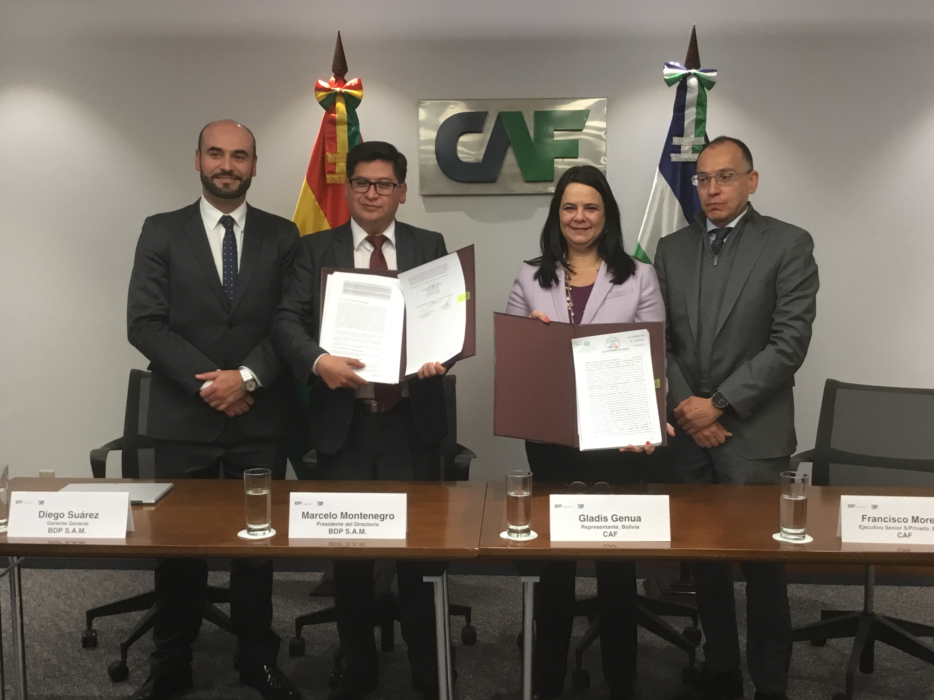 CAF Approves $10 Million Line of Credit to Strengthen the Productive Development Bank of Bolivia