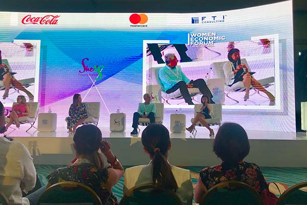 CAF presents progress in women's financial inclusion at Women Economic Forum