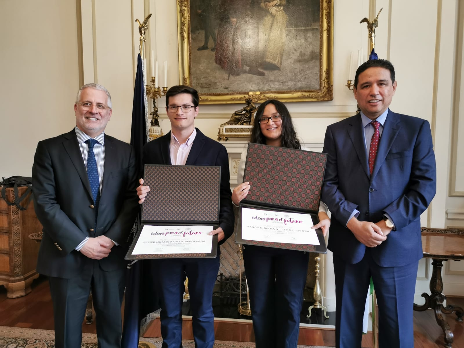 #IdeasForTheFuture University Essay Competition Rewards Winners in Chile