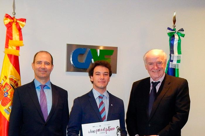 CAF and Bank of Spain Reward University Student Talent