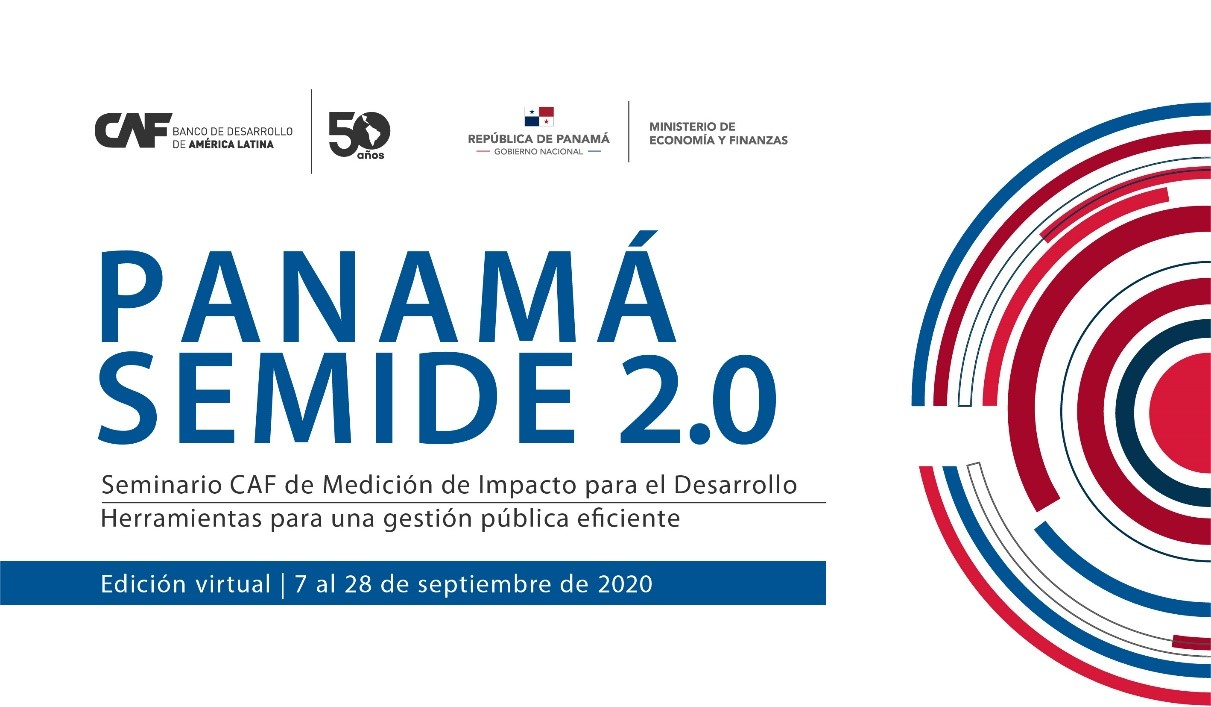 CAF Launches Seminar on Impact Measurement for Development: Panama SEMIDE 2.0