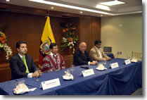 Funds to promote development in Ecuador