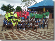 First Children's Football Festival in Buenaventura