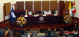 IV Governance and Political Management Program in Peru