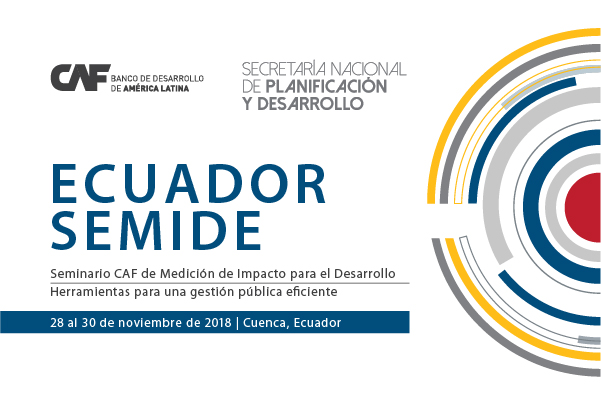 CAF offers 35 scholarships for Seminar on Impact Measurement for Development, to be held on November 28-30 in Cuenca