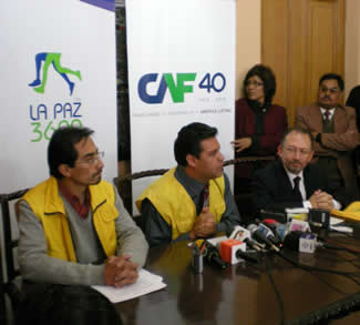 Invitation to take part in the second La Paz 3,600 race