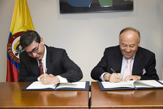 Agreement signed with Fedesarrollo for joint research on regional sustainable development