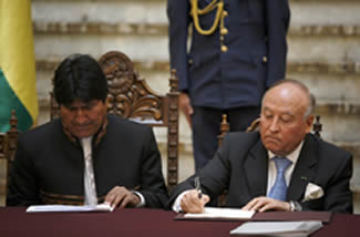 USD 88 million for Bolivia's integration infrastructure