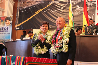 USD136 Million to Improve Bolivia's Infrastructure