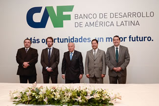 Argentina, Bolivia, Ecuador and Uruguay join the new Latin American Guarantee Fund created by CAF