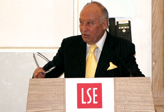 The LSE honors Enrique Garcia as Visiting Professor in Practice