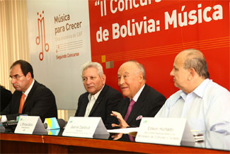 Music to Grow Youth Orchestra Contest presents its second edition in Bolivia