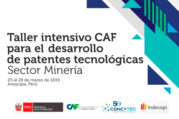 Workshop to develop technology patents in Peru's mining sector