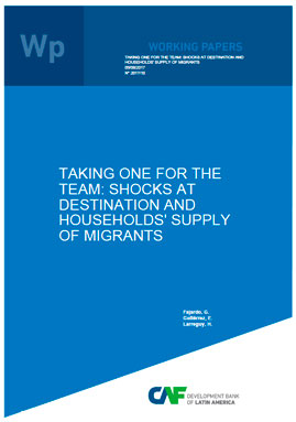 imagen publicacion - Taking One for the Team: Shocks at Destination and Households' Supply of Migrants