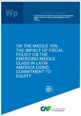 imagen publicacion - On the middle 70%. The impact of fiscal policy on the emerging middle class in Latin America using Commitment to Equity