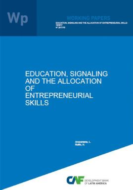 Education, signaling and the allocation of entrepreneurial skills