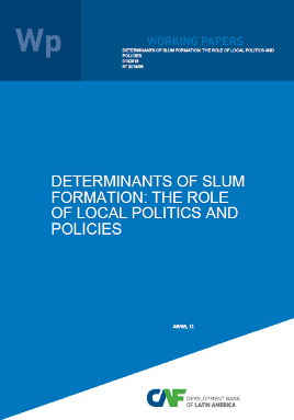 Determinants of Slum Formation: The Role of Local Politics and Policies