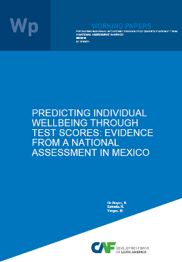 Predicting Individual Wellbeing Through Test Scores: Evidence from a National Assessment in Mexico