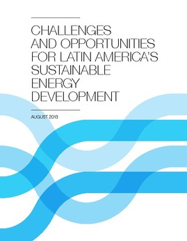 Energy: an overview of challenges and opportunities in Latin America and the Caribbean. Sectoral energy report